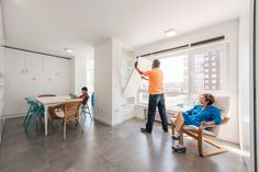 Sliding wall partitions for a adaptable home