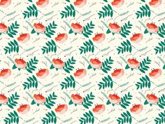http://www.anatypestype.com #pattern #flower #patterns #flowers #plant