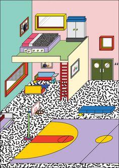 Peter Judson | PICDIT #design #graphic #color #illustration #art