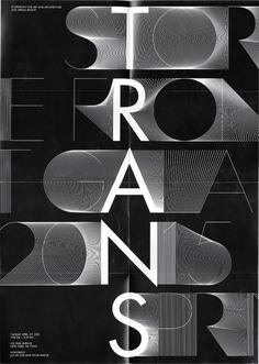 TRANS, Identity system – Exhibition