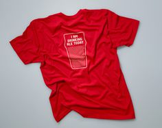 Loveland Aleworks — Manual #clothing #red #apparel #print #tshirt #shirt #screen