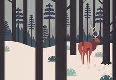 #illustration #deer