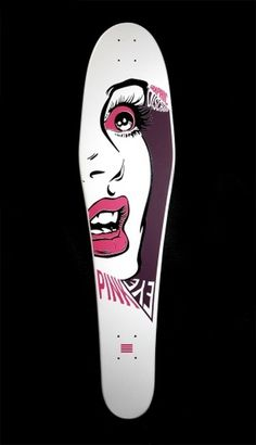 Graphic Discharge #skateboard #silkscreen