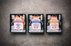 Lithells on Packaging of the World - Creative Package Design Gallery #packaging #meat