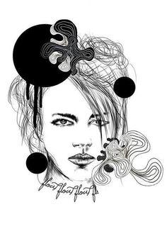 Freja by Mateusz Suda #suda #mateusz #project #illustrator #design #graphic #illustrations #ilustracja #moda #polak #sztuka #mateuszsudacom #art #polska #poland #logo #victim #artysta #artis #fashion