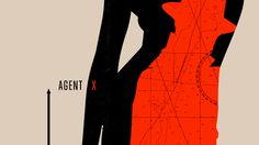 #geometric #minimal #special agent #agent x #mystery #silhouette #contrast #nasty