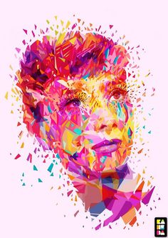 Abstract Colors 2012 on the Behance Network #digital #print #colorfull #illustration