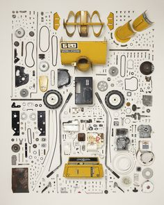 CJWHO ™ (Things Come Apart A Teardown Manual for Modern...) #come #design #retro #photography #disassemble #art #things #apart