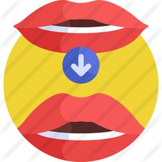See more icon inspiration related to augmentation, aesthetics, healthcare and medical, lip, beauty, mouth, down arrow, fashion, healthcare and arrows on Flaticon.