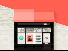 Vans . Free Illustration Kit By Sofia Drogoudi & Katia Tsikrikonaki