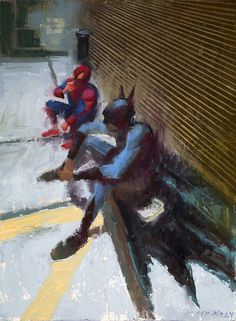 art blog William Wray empty kingdom #superheroes