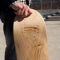 Manhattan skate deck