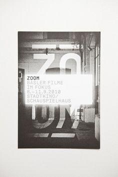 ZOOM – Basle Film Festival & Film Prize ° Identity on the Behance Network