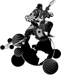 IdN: 15 Degrees - Universe #illustration #design #art #publication