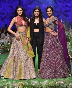 Ileana D'Cruz and Athiya Shetty for Mrunalini Rao