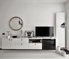 40 sqm Studio Apartment Renovation by Alex Calin - InteriorZine