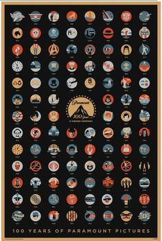 100 Years Of Paramount Pictures #pictures #of #years #paramount #poster #100