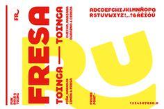 Fruna rebrand by Brandlab #brand #bold #fat #type