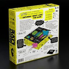 Saturday Night Live The Game 2 #live #saturday #packaging #the #night #illustration #for #game