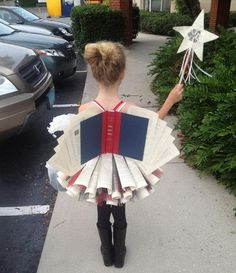 Book Fairy Costume for Girl #fairy #girl #costume #makeup #diy