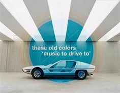 'Music To Drive To' MIX & iTunes Podcast! « These Old Colors™ #1960s #design #car #vintage