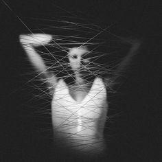 Lines: Conceptual Portrait Photography by Emilie Mori