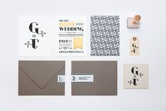 Wedding Invitation Tanya Duffy – Graphic Designer #typography #identity #stationary #wedding