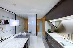 Compact Apartment in Shanghai - #decor, #interior, #home