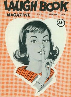 laugh-book-february-1959 | Flickr - Photo Sharing! #illustration #magazine