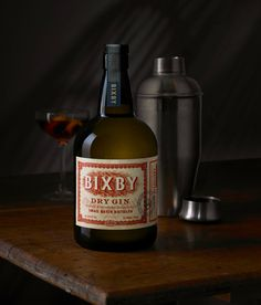 Bixby Gin ~ #Gin Label Design ~ Auston Design Group #packaging