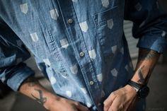 All Things Stylish #denim #pattern #shirt