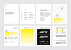 Lundgren+Lindqvist Yrkeshögskolan Göteborg Brand Manual #graphique #charte