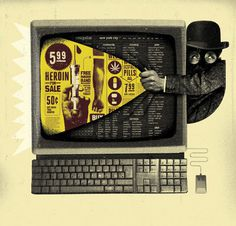 curt merlo #illustration #layout