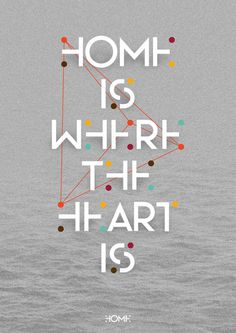 home by layer01 #art #typography