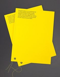 Volume Two | Flickr - Photo Sharing! #proud #print #yellow #black #out #promotion #mail