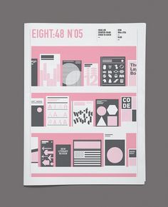 Eight:48 Issue 5, 'Counter-Print: Cover to Cover' | Flickr - Photo Sharing! #grid #magazine