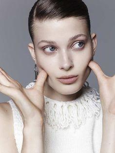 Dark blonde model Larissa Hofmann