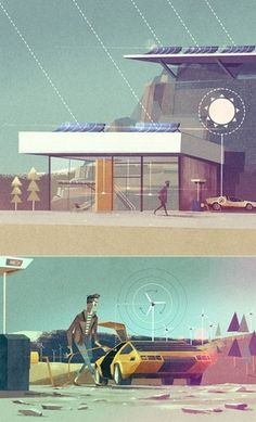 The work of Matthew Lyons #illustration