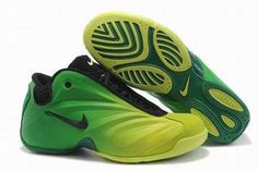 Air Flightposite Green/Black Men's #shoes