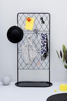 IKEA studio, graphic minimalistic shapes in home furnishing