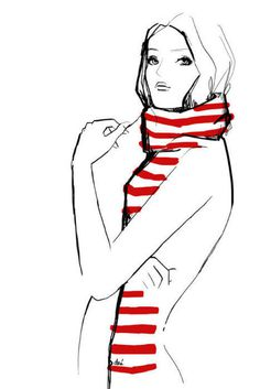 fashion #illustration #fashion illustration