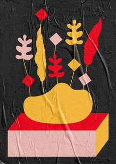 Magic plants - Laura Normand, graphic design player.