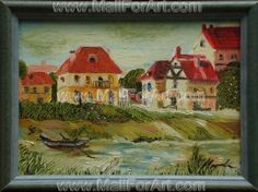 9 Amazing Landscape Oil Paintings by Mariva #urban #landscape #painting #oil