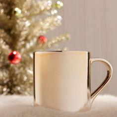 Starbucks Ceramic Gradient Rose Gold and Silver Mug #mug #gold #gadget #starbucks