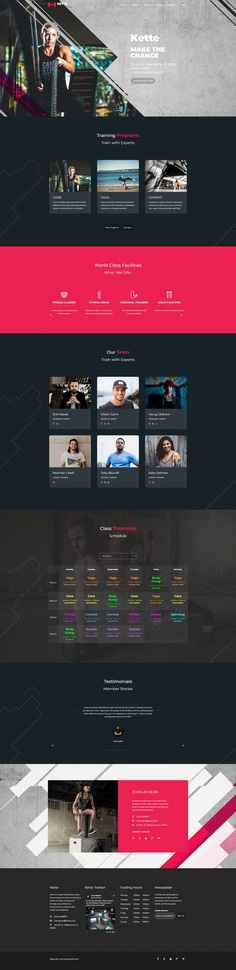Kette – Fitness, Gym and Sport Theme