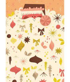 Eight Hour Day » Blog » Andrew Kolb #illustration #santa