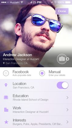 Huzzah Profiles by Juan Arreguin
