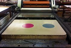 Creative Review - Stone age printing for Æsir #printing #colour
