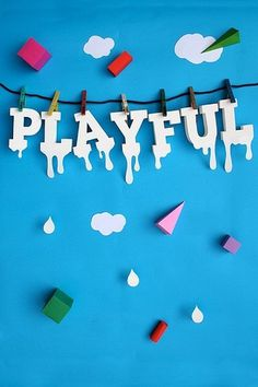 Playful wet | Flickr - Photo Sharing! #typography
