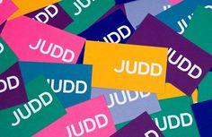 Judd Foundation #graphic #identity #typography